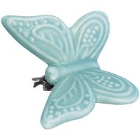 Schmetterling Clip - S - pale blue