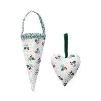 Cornet Joselyn green - 2er Set