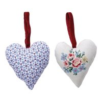 Heart - Juno dusty blue - 2er SET