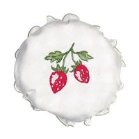 Jam lid cover - Glashaube - Strawberry