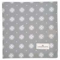 Stoffserviette - Saga warm grey