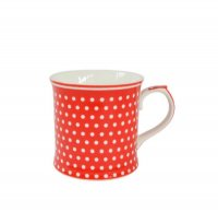 Tasse Mug - dots red