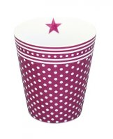 Mug - Becher - Plum Dots