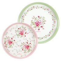 Tablett Tray 2er Set - Mary white