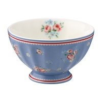 Schüssel - French Bowl M - Nicoline dusty blue *VORBEST.