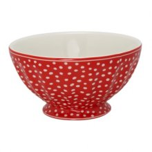Schüssel - French Bowl XL - Dot red LIMITIERT