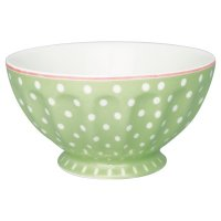 Schüssel - French Bowl XL - Spot pale green B-WARE