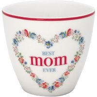 Latte Cup - Mom white