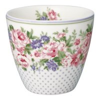 Latte Cup - Rose white
