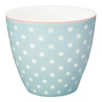Latte Cup - Spot pale blue