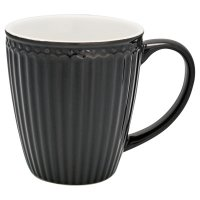 Tasse - Alice dark grey B-WARE