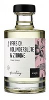 Tonic Sirup - Pfirsich Holunder, Zitrone