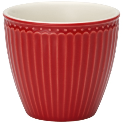 Latte Cup - Alice red